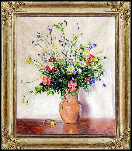 """Flowers from New York"" by Johann Berthelsen"