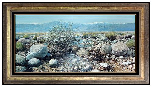 """Original Desert Scene"" by Peter Ellenshaw"