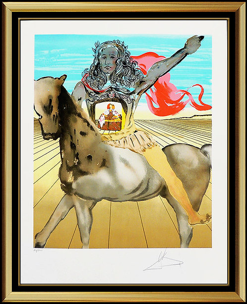 """Chevalier Surrealiste"" by Salvador Dali"