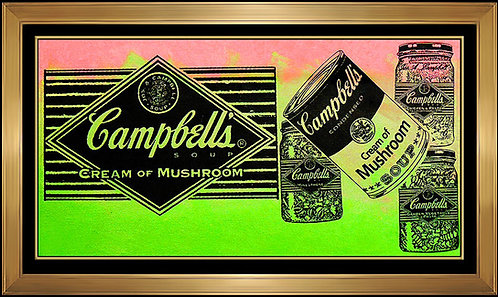 """""""Campbell's Soup"""" by Steve Kaufman"""