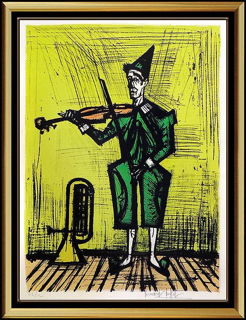 """Violiniste"" by Bernard Buffet"