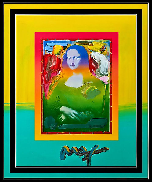 """Mona Lisa"" by Peter Max"