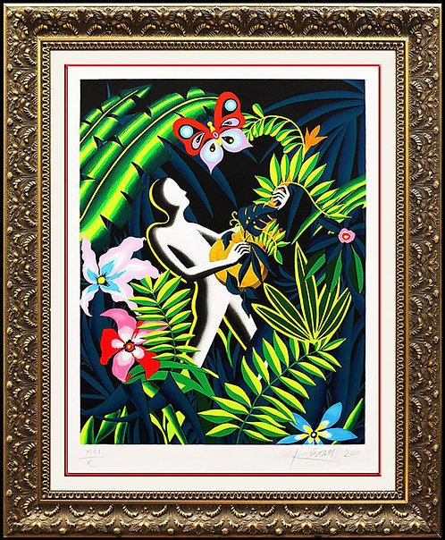 """Call of Nature"" by Mark Kostabi"
