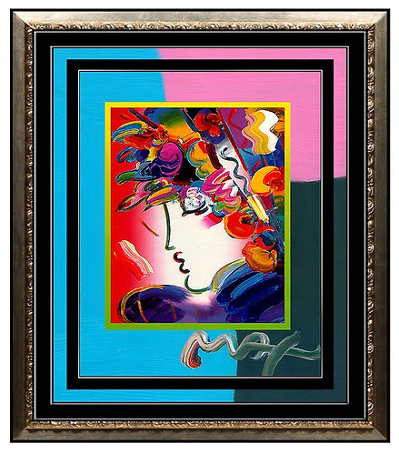 """Blushing Beauty"" by Peter Max"