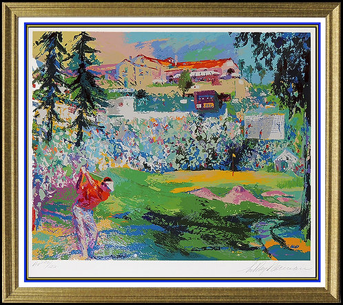 """Amphitheater at Riviera"" by Leroy Neiman"
