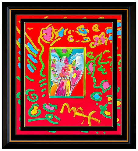"""""""Original Angel with Heart"""" by Peter Max"""
