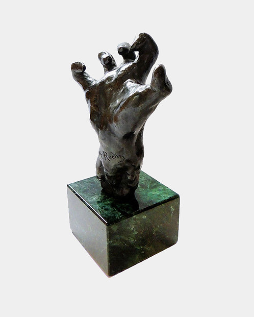 """Small Clenched Hand"" by Auguste Rodin"
