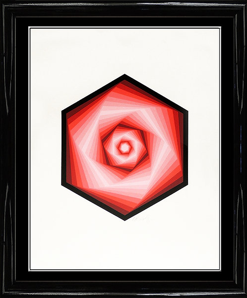 """Vegagon"" by Victor Vasarely"