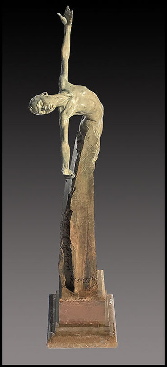 """Agalia (Brilliance)"" by Richard MacDonald"