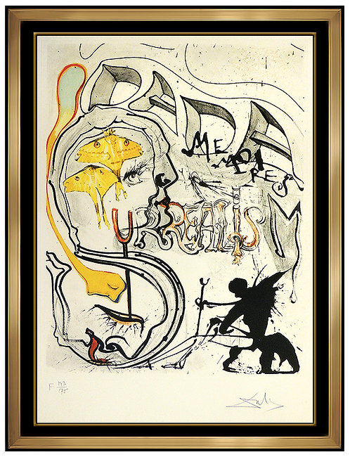 """Angel of Dada Surrealism"" by Salvador Dali"