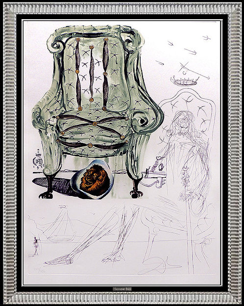 """""""Breathing Pneumatic Armchair"""" by Salvador Dali"""