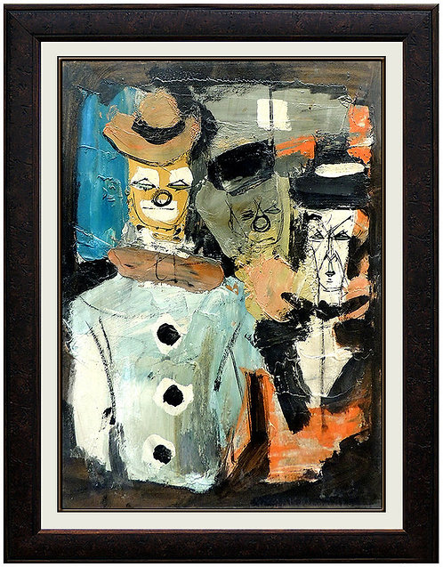 """""""Whimsical Clowns"""" by Charles Levier"""