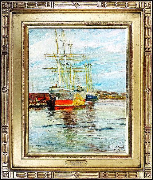 """Rockport Harbor - 1916"" by Aldro A.T. Hibbard"