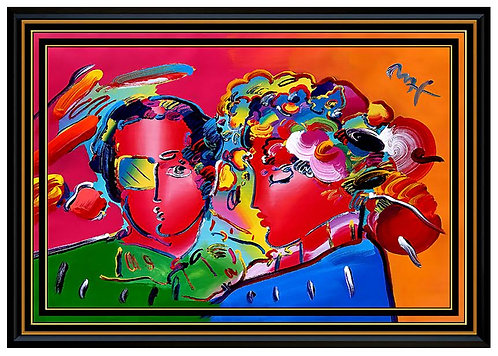 """""""Zero in Love"""" by Peter Max"""
