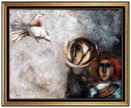 """Original Dove of Peace"" by Sunol Alvar"