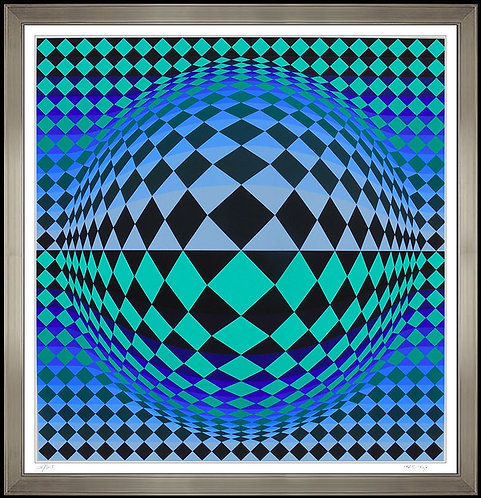 """Vega"" by Victor Vasarely"