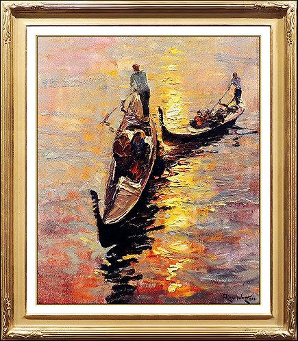 """Gondola Companions"" by Alan Wolton"