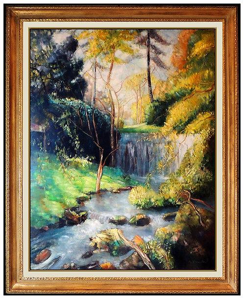 """""""Original La Cascade"""" by Andre Vignoles"""