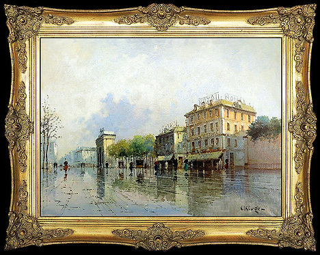"""""""La Pluie de Paris"""" by Constantin Kluge"""
