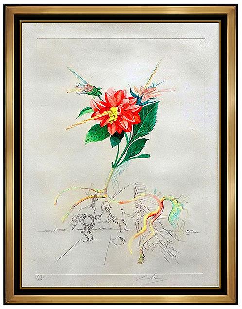 """""""Dahlia Unicornis"""" by Salvador Dali"""
