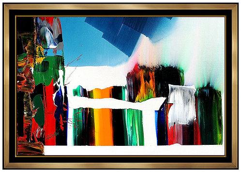 """Original Phenomena Bridge Near Notre Dame"" by Paul  Jenkins"