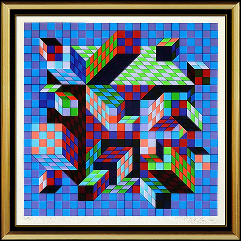 """""""Sirt-MC"""" by Victor Vasarely"""