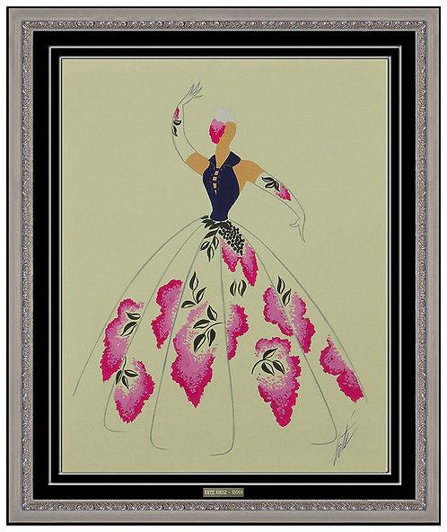 """""""Robe de Chambre"""" by Erte"""