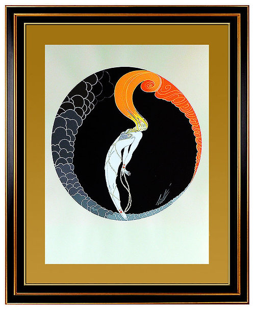 """L'Amour"" by Erte"