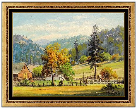 """Ranch Near Lake Tahoe"" by Paul Grimm"