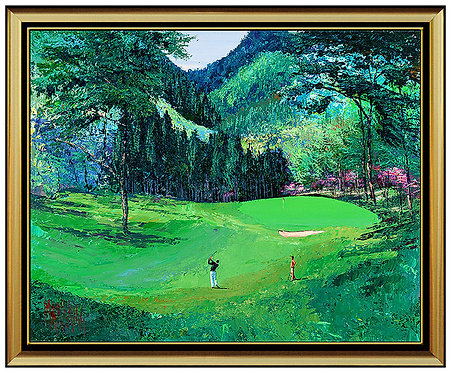 """Karasawa Country Club, Hole 15"" by Mark King"