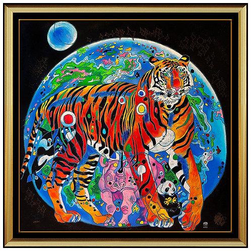 """""""Beautiful Tomorrow"""" by Jiang Tie Feng"""