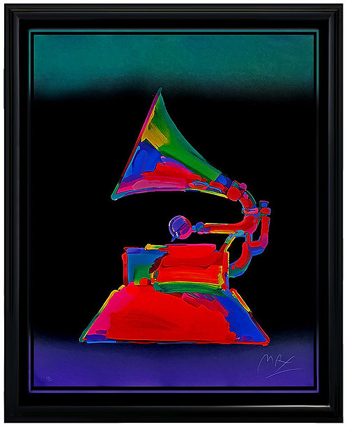 """""""The Grammy"""" by Peter Max"""