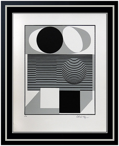 """""""Ondho"""" by Victor Vasarely"""