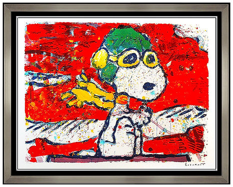 """""""Low-Fat Meal Over Santa Monica"""" by Tom Everhart"""