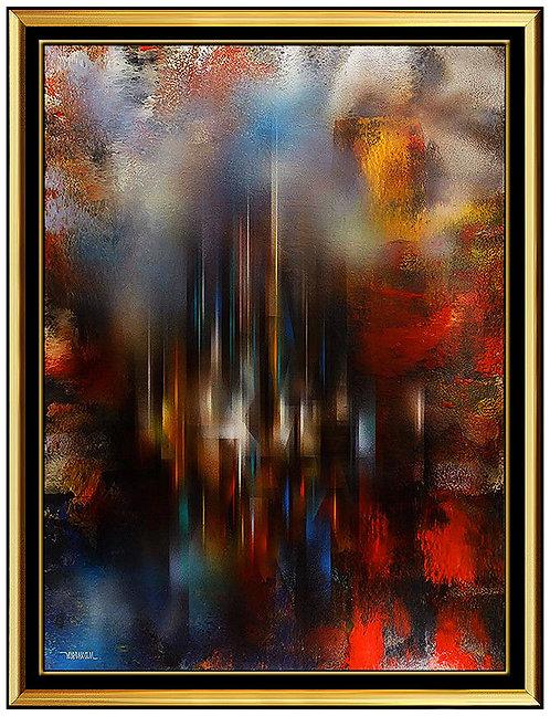 """Original Crystalline City"" by Leonardo Nierman"