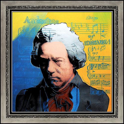 """Beethoven"" by Steve Kaufman"