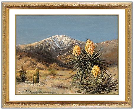 """Original View of Desert Mountain"" by Robert William Wood"
