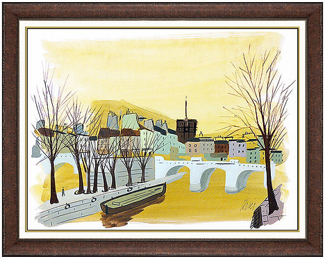 """Paris a l'Aube"" by Charles Levier"
