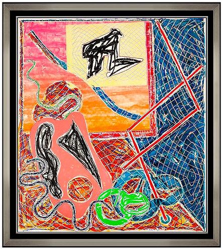 """Shards I (Axsom 144)"" by Frank Stella"