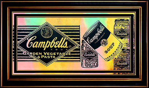 """Campbell's Soup"" by Steve Kaufman"