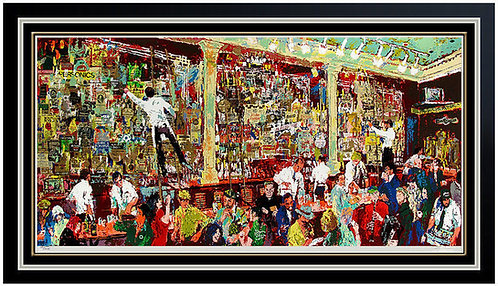 """F.X. McRory's Whiskey Bar"" by LeRoy Neiman"