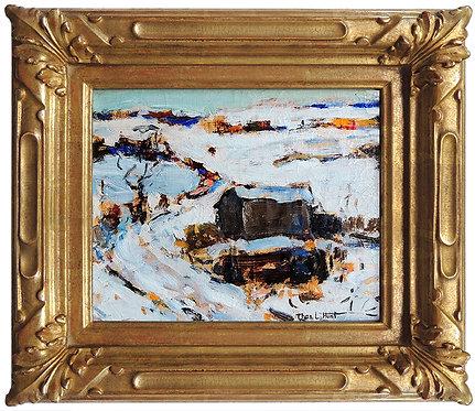 """Original Winter Morning"" by Thomas L. Hunt"