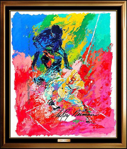 """""""Original Sliding Home"""" by Leroy Neiman"""