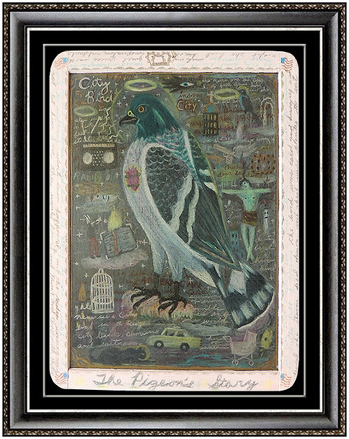 """""""The Pigeon's Story Original"""" by Tony Fitzpatrick"""