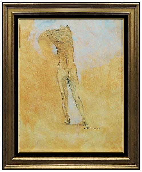 """Original Nude Light Study"" by Richard MacDonald"