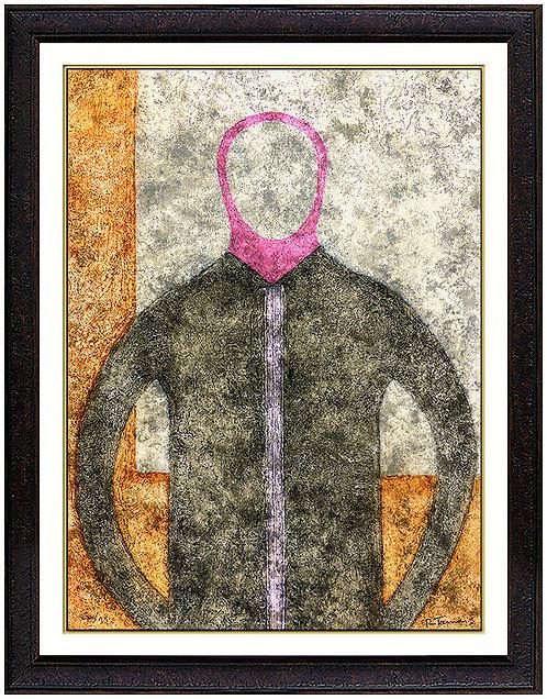 """""""Personaje en Gris"""" by Rufino Tamayo"""