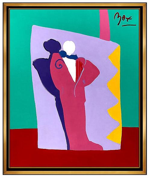 """Original Deco Man"" by Peter Max"