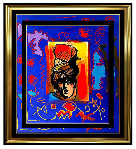"""Original Artists Profile"" by Peter Max"