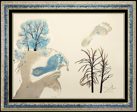 """Winter"" by Salvador Dali"