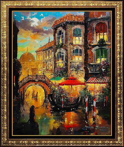 """Immersed In Venice Romance"" by James Coleman"